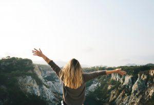 Pexels adventure-blonde-hair-cliffside